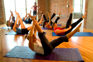 Group Pilates Mat Class